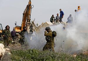 شادی صهیونیستها از انفجار خانههای مردم فلسطین + فیلم