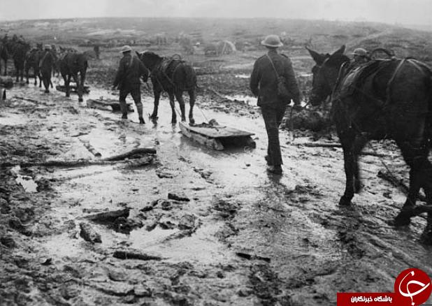 تصاویر سیاه و سفید کمتر دیده شده از جنگ جهانی اول ///چهارشنبه صبح