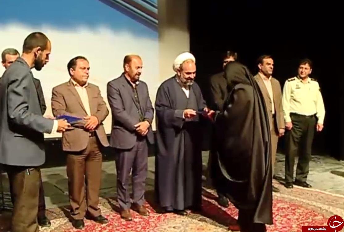 تجلیل از برگزیدگان جشنواره مد و لباس اسلامی - ایران در اراک