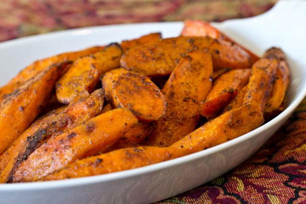 کاری هویج برشته در فر؛ رژیمی و خوش طعم