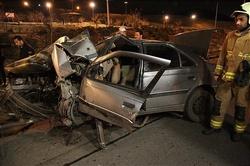 در حادثه رانندگی در تایباد یک نفر جان خود را ازدست داد/ خودرویی که حامل پوشاک قاچاق بود