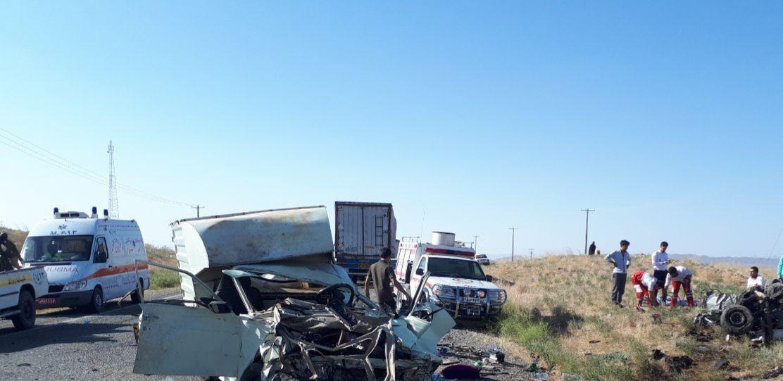 سانحه رانندگی در سبزوار سه کشته بر جای گذاشت/ وقوع حادثه مرگبار رانندگی در تایباد