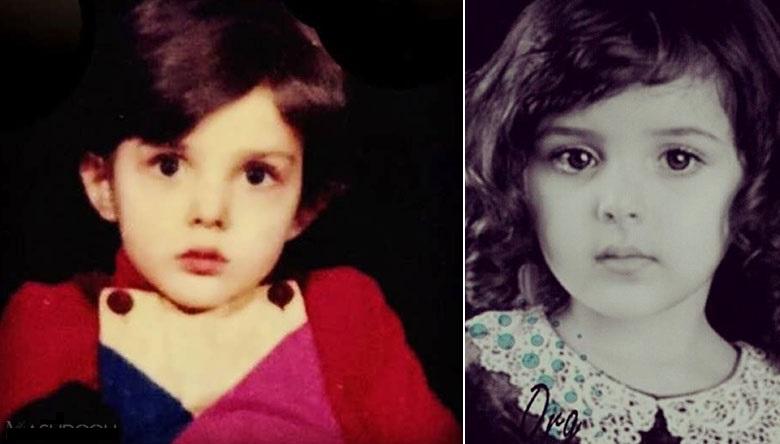 دوران کودکی لیلا اوتادی +عکس