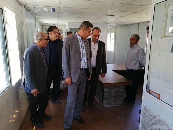بازدید سرپرست معاونت هماهنگی امور عمرانی استانداری آذربایجان غربی از پایانه مرزی رازی