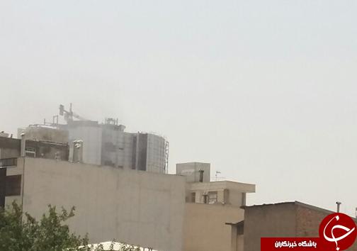 آتش سوزی در هتل آسمان