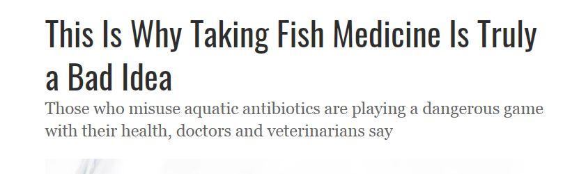 اسطورههای آمریکایی برای درمان بیماری از داروهای سگ و ماهی استفاده میکنند! + تصاویر