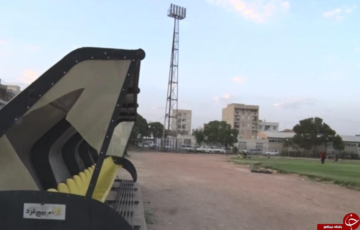 ورزشگاه چمران ساوه در تکاپوی آماده سازی