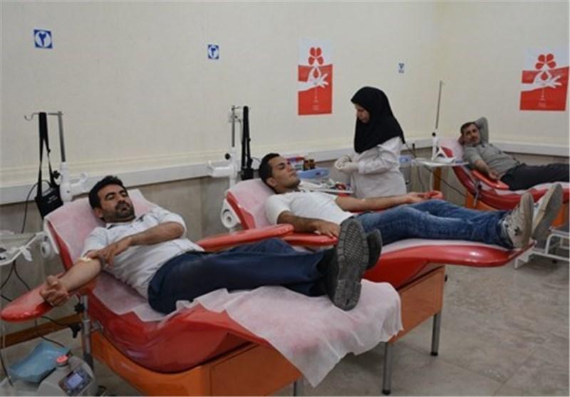 شاخص اهدای خون در استان مرکزی ۳ واحد بیشتر از کشور