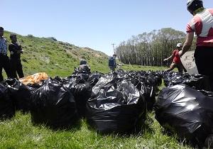 پاکسازی منطقه لار زاهدان  به همت متخلفین زیست محیطی
