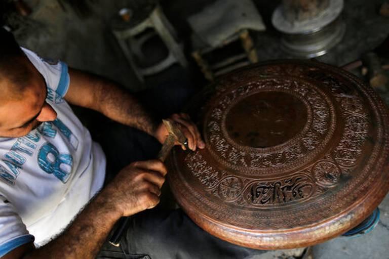 جان گرفتن بازار باستانی حلب با پایان جنگ در سوریه+تصاویر