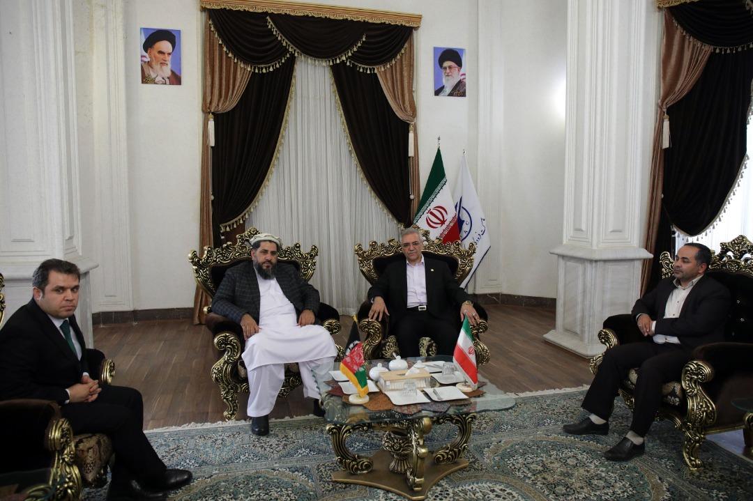 رئیس مجلس سنای افغانستان به مشهد آمد