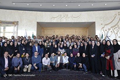 آیین تجلیل از خبرنگاران با حضور رییس مجلس