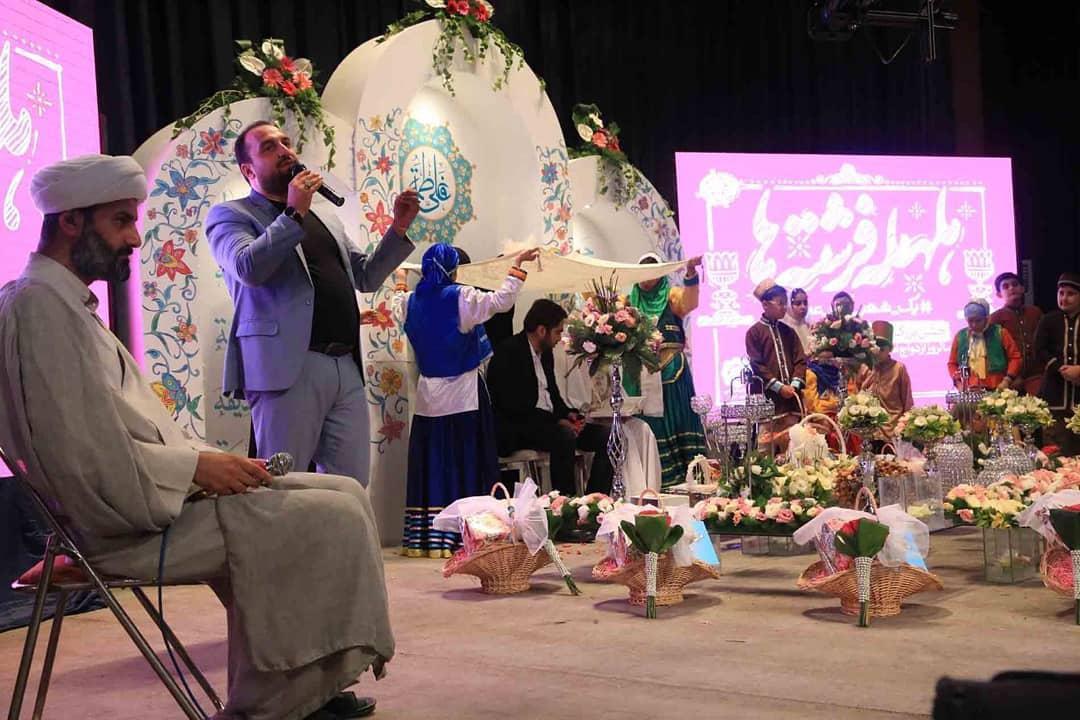 حضور داور عصر جدید در یک عروسی مختلط + تصاویر