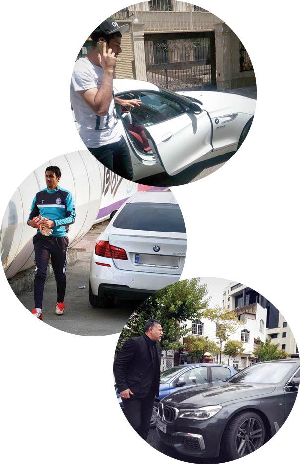 فوتبالیستهای سرشناس ایران و جهان چه خودروهایی سوار میشوند؟