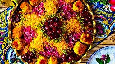 باشگاه خبرنگاران -آلبالو پلو غذای خوشمزه تابستان + طرز تهیه
