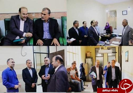 بازدید رئیس شوراهای حل اختلاف خوزستان و هیأت همراه از شورای حل اختلاف خرمشهر