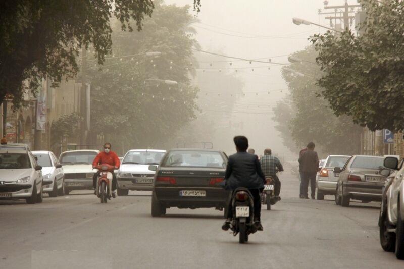 پیش بینی احتمال کاهش دید افقی و کیفیت هوا در استان مرکزی