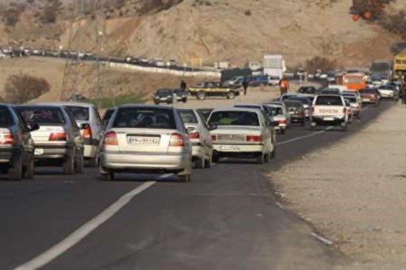 ترافیک نیمه سنگین در محورهای مواصلاتی استان زنجان