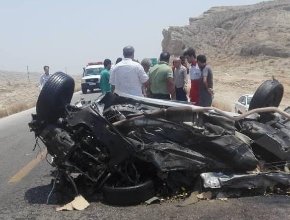 تصادف در محور بوشهر- دیر چهار قربانی گرفت