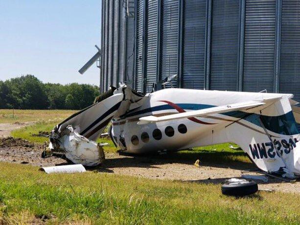 سه کشته درپی سقوط یک هواپیما در آمریکا