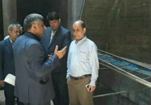 دریچه های خروجی اصلی سد وشمگیر تا سه ماه آینده تعمیر می شود