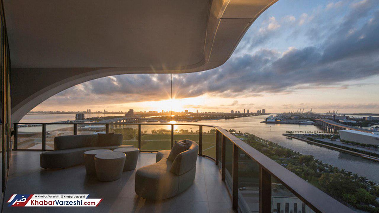 بکهام در گرانقیمتترین آپارتمان دنیا؛ از لندن تا فلوریدا