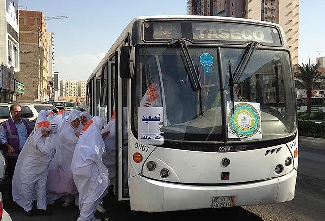باشگاه خبرنگاران -مرحله اول بانوان و زائران کهنسال وارد منا شدند/انتقال زائران با ۳۵۰ دستگاه اتوبوس انجام میشود