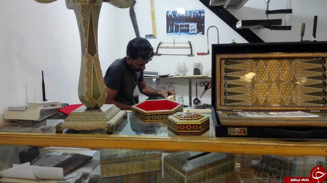 نام صنایع دستی شیراز در دفتر ثبت های ماندگار/ از طرحهای نقش برجسته تخت جمشید تا خاتمی به قدمت مسجد جامع عتیق