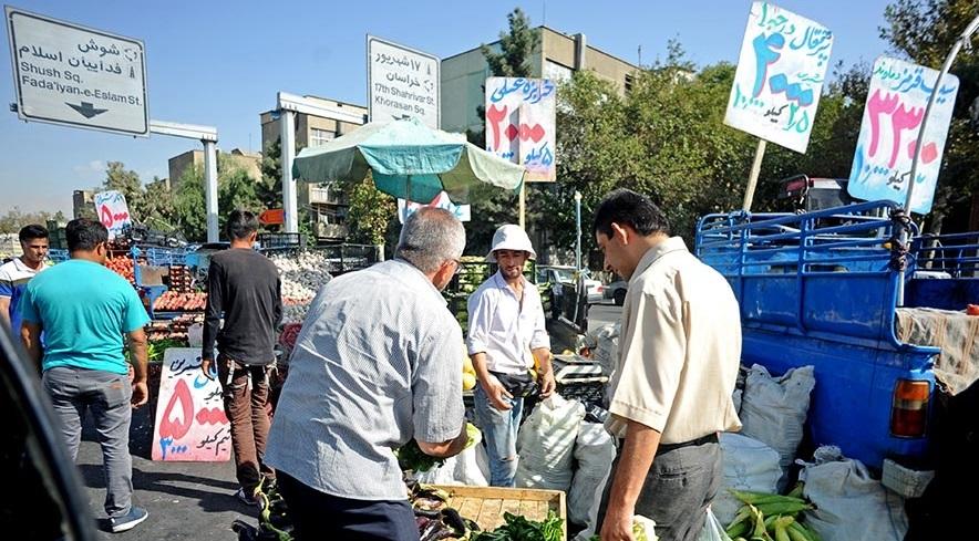 خیابان فدائیان اسلام در تسخیر بار فروشان