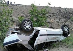استقرار ۱۳۰ تیم پلیس راه در جادههای استان همدان/ واژگونی ۳ خودرو در استان همدان