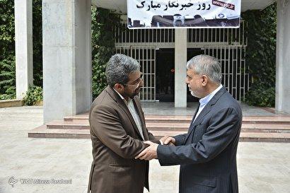 بازدید صالحی امیری از باشگاه خبرنگاران