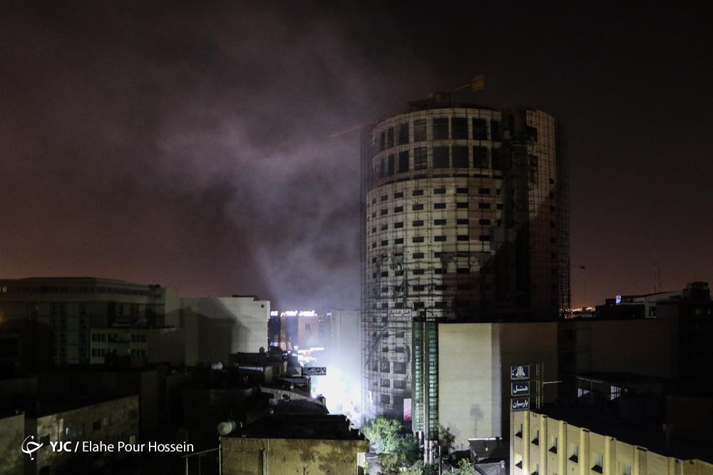 آتش سوزی هتل آسمان آخرین فرصت میراث کریم خان زند/ ضرر جهانی در ازای سود جیب برخی ها!