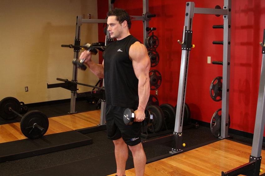 آموزش کامل حرکت جلو بازو