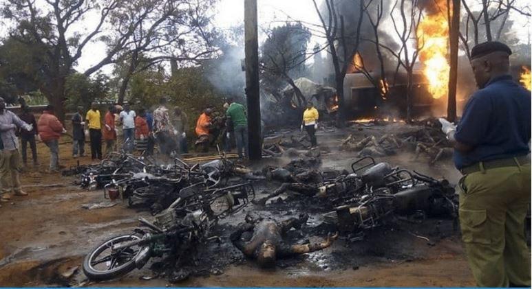 قربانیان انفجار تانکر سوخت در تانزانیا به ۷۱ کشته افزایش یافت