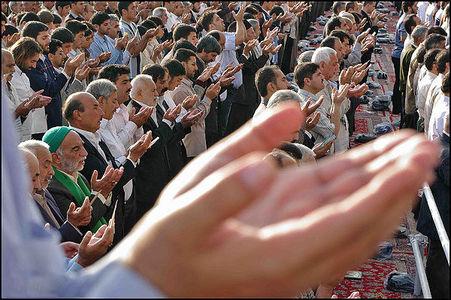 اقامه نماز عید قربان در گلستان