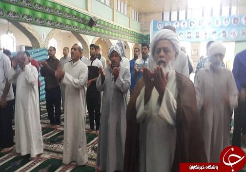 اقامه نماز با شکوه عید سعید قربان در آبادان
