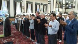 برگزاری نماز عید سعید قربان در چهاربرج + فیلم