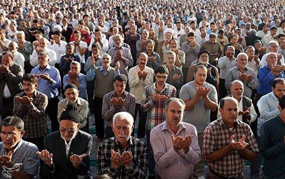 نماز عید قربان در زاهدان اقامه شد