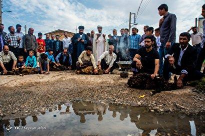 عید قربان در روستای غلام ویس