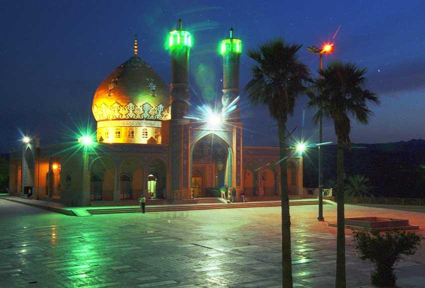 قبر اهدایی شهرداری صالح آباد به خبرنگاران