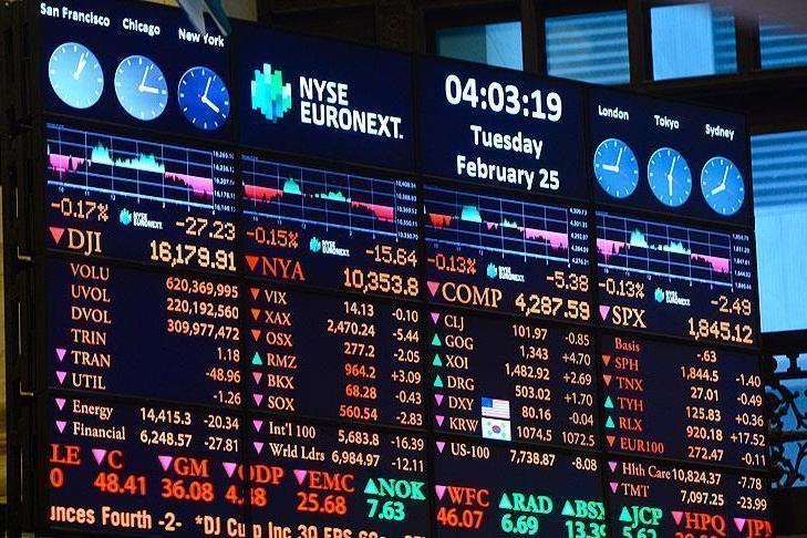 روند نزولی شاخصهای سهام در بورس اروپا در روز دوشنبه