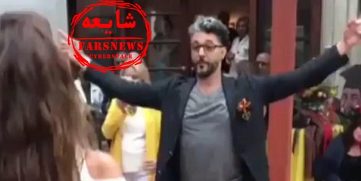 ماجرای تصویر جنجالی از رقص پسر وزیر کار در مراسم مختلط چیست؟ + عکس