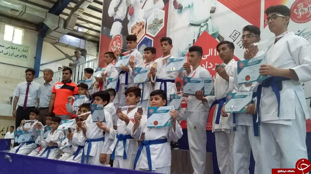 کاراتهکاران IKD گناوهای در مسابقات آسیایی خوش درخشیدند