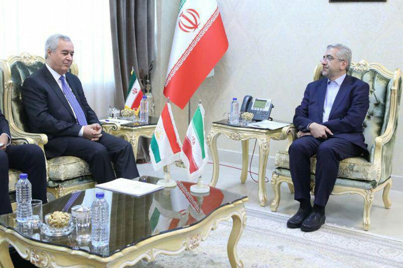 موانع توسعه همکاریها بین ایران و تاجیکستان باید رفع شود