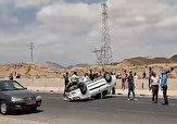 باشگاه خبرنگاران -واژگونی خودروی رانا در سمنان + فیلم