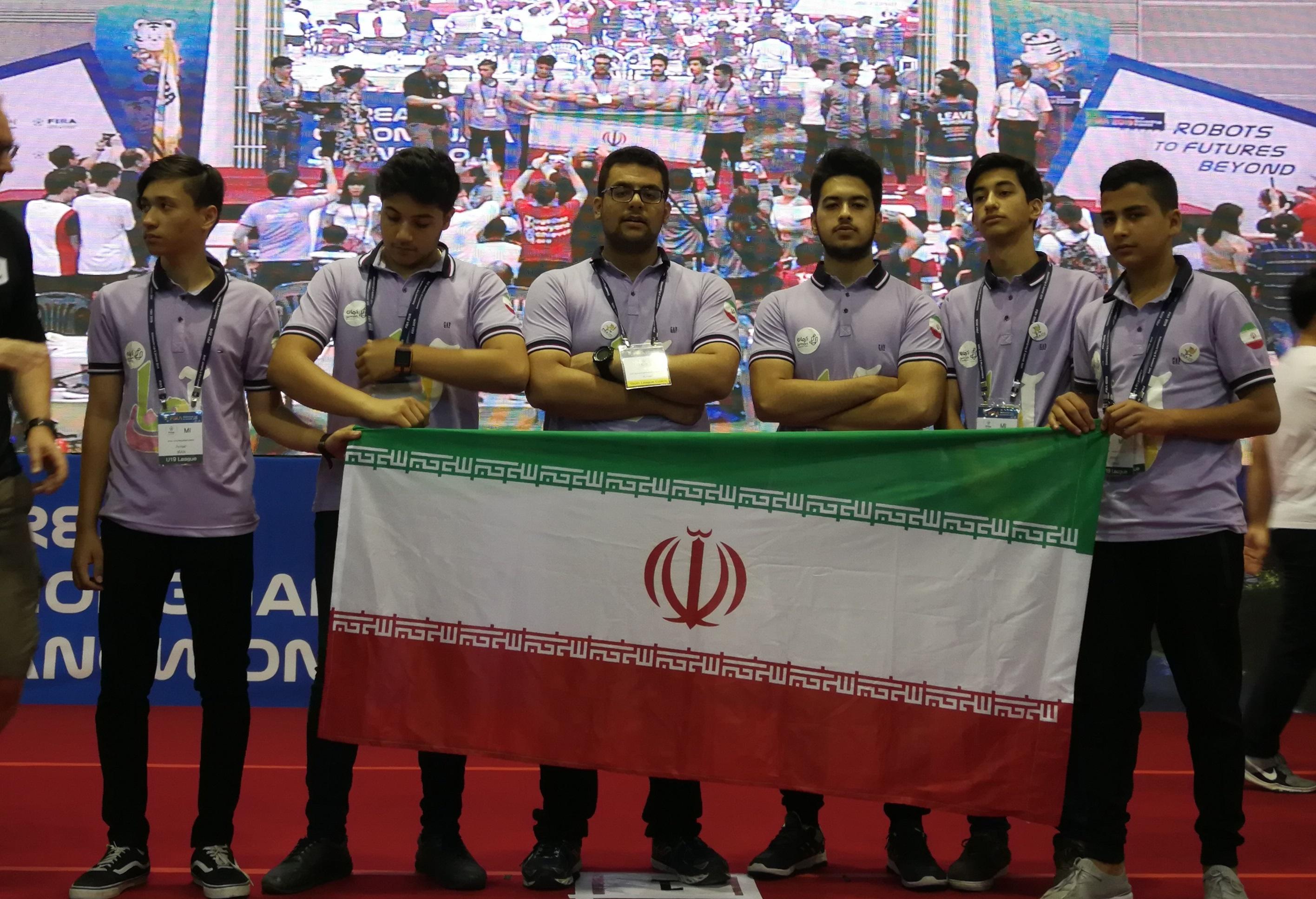 افتخار آفرینی تیم رباتیک ایران در روز اول اعلام نتایج/ ۳ اولی و ۲ دومی سهم کشورمان از این دوره از مسابقات