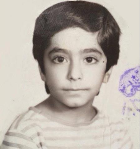 عکسی از دوران کودکی رضا شفیعیجم +تصویرنوشته