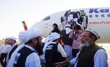 روند بازگشت حجاج افغانستان از روز جمعه آغاز می شود
