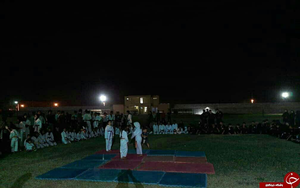 برگزاری طرح تابستانه با ورزش در عنبرآباد + تصاویر