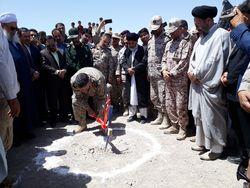 آغاز عملیات اجرایی طرح آبرسانی به هفت روستای مرزی بخش سنگان خواف